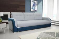 Sofa mit Schlaffunktion Polstersofa Couch Bettkasten Schlaffsofa Bino 15