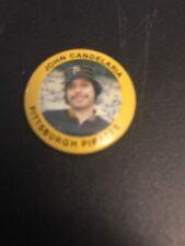 VINTAGE 1984 FUN FOODS John Candelaria Pittsburgh Pirates PIN BUTTON # 50