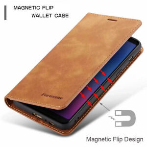 Luxury Leather Wallet Flip Case For Samsung S9 S9 PLUS S10 S10E S10 PLUS S10 5G