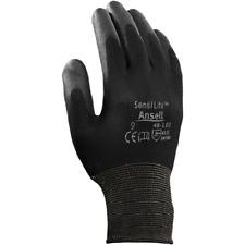 Ansell Sensilite Polyurethane Palm Coated Gloves 48-101 Size 6, 3 Pairs