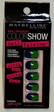 Maybelline Color Show Nail Falsies Self Adhesive Press On Nails BLOCK PARTY 24ct