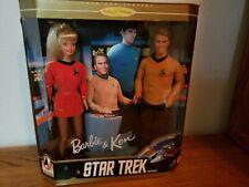 1996 Star Trek Barbie & Ken -30th Anniversary Collector Edition Gift Set -Mattel