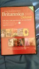 Encyclopedia Britannica Deluxe Edition 2005 for PC