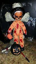Living Dead Dolls Series 16 Halloween PUMPKIN VARIANT Open & Complete