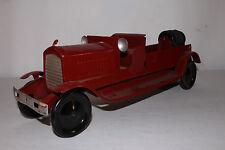 1930's Turner Pressed Steel Ahrens Fox Firetruck