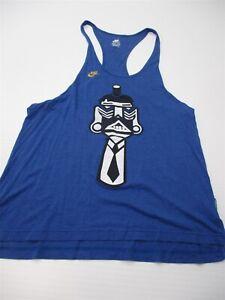 NIKE Tank To Woman's Size L Sportswear Blue