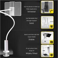 Flexible 360 Clip Cell Phone Tablet Holder Lazy Bed Desktop Bracket Mount Stand