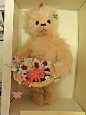 Annette Funicello Collectable Bear Cheryl Ann Limited Edition Mohair w/ Coa Nib