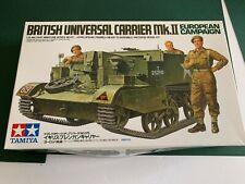 1/35 British Universal Carrier Mk II European Campaign kit by Tamiya