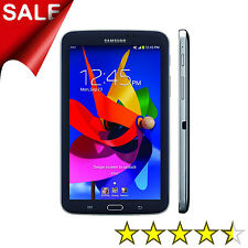 Samsung Galaxy Tab 3 SM-T217A 16GB Wi-Fi +4G AT&T Black Android Tablet Computer