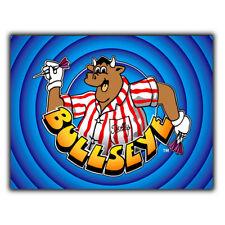 BULLSEYE Darts METAL SIGN WALL PLAQUE TV Show poster man cave games room