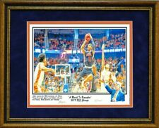 AUBURN BASKETBALL MARCH TO REMEMBER FINAL 4 BRUCE PEARL SEC FRAMED PRINT