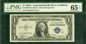 US Paper Money 1935A Experimental R $1 Silver Certificate Gem CU NO RESERVE!