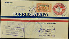 Panama 1929 Air Mail First Flight Cover To Colon #C53729