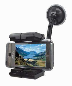Autocare Car Sat Nav Multi Mount Holder Fits Mobile Phones MP3 Players SatNavs