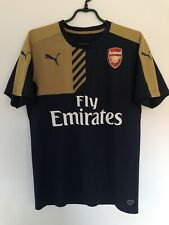 Fly emirates soccer jersey Arsenal Puma Mens Medium Blue Football
