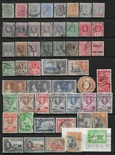 Collection of good used Gold Coast stamps.