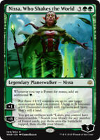 Nissa, Who Shakes the World x1 Magic the Gathering 1x War of the Spark mtg card