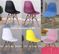 4 × Designer scandinavian chair Retro Eiffel Eames Chair Set of modern chairs