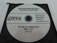 2012 Indianapolis 500 Restarts and Pit Stop JR Hildebrand In Car View DVD IMS