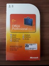 Microsoft Office 2010 Professional / Vollversion / PKC / 269-14834 NEU