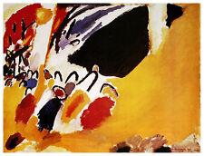 Kandinsky Impression III Konzert Poster Kunstdruck Bild 48x63cm - Portofrei