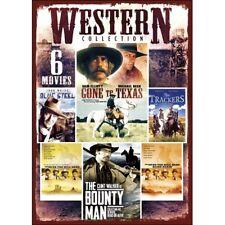 NEW Western Collection 6 Movies DVD  2-Disc Set  sammy davis jr over 8 hours