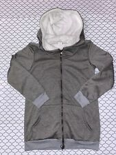 Z Avenue USA Faux Fur Sherpa Lined Hoodie Jacket Size Small