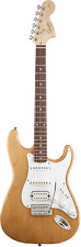 Squier Stratocaster Affinity Series 'Limited Edition'  Natural Alder Finish.