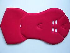 Hamax Sitzpolster rot für Hamax Kiss + Sleepy Fahrrad Kindersitz NEU