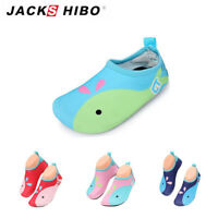 Kids Baby Whale Water Skin Shoes Aqua Socks For Boy Girl Beach Swim Children