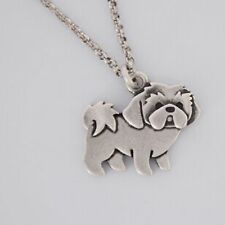 Cute Shih Tzu Dog Boho Chic Necklace