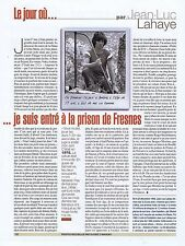 COUPURE DE PRESSE CLIPPING 2004 JEAN LUC LAHAYE   (1 page)