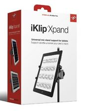 IK Multimedia iKlip Xpand - Universal Mic Stand Support for iPad & Tablets - New