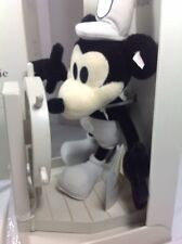 """STEIFF/ DISNEY """"STEAMBOAT WILLIE""""  EARLY MICKEY MOUSE CHARACTER ORIGINAL BOX"""