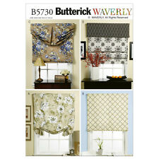 Butterick Sewing Pattern B5730 Window Shade and Valance