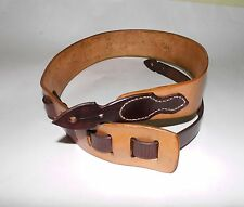 Personalized Guitar Straps Full-grain Leather Custom Made