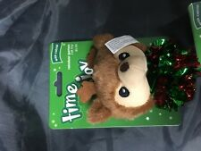 Time for Joy Holiday Reindeer games Catnip Cat Toy