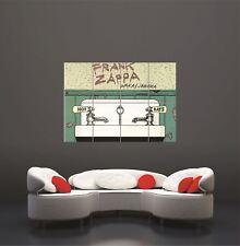 Frank Zappa 1972 Waka Jawaka Poster Art Print XXL Giant