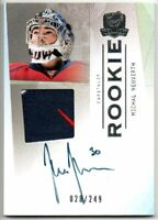 09-10 UPPER DECK THE CUP ROOKIE AUTO PATCH MICHAL NEUVIRTH /249