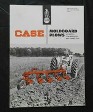 "1962 J. I. CASE ""SERIES A T MRA MTA SR ST CHA MOLDBOARD PLOW"" CATALOG BROCHURE"