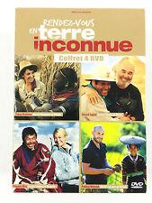 Coffret 4 DVD Rendez-vous en terre inconnue Gérard Jugnot, Frédéric Michalak...