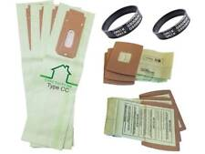4 Allergy Bags for Oreck XL XL2 XL21 Upright Vacuum Type CC  + 6 BB W/ 2 BELTS !