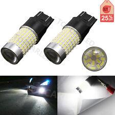 2PCS T20 7443 7440 144 LED 3014 SMD Car Tail Backup Light Bulbs White DC 12-24V