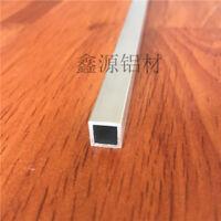 "2x 6061 T6 Aluminum Seamless Square Tube 1mm x 12mm x12mm Length 0.5m (20"") each"