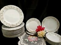 1980's Sheffield Fine China Japan Classic 501 Dinnerware Set - 23 Pcs