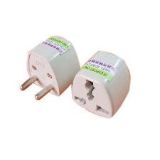 Universal UK US AU to EU Euro AC Travel Power Plug Charger Adapter Converter