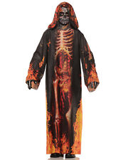 Underworld Boys Childs Burning Skeleton Halloween Costume-L