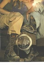 PUBLICITE ADVERTISISNG  2002  Palladium chaussures bottes boots