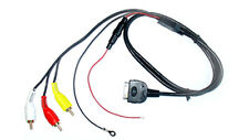 iPod to RCA phono adapter lead aux input lead in car radio iPod MP3 CT29IP02 new